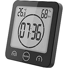 Suchergebnis Auf Amazon De Fur Badezimmeruhr Mit Thermometer