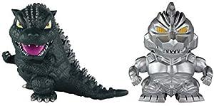 Godzilla 97921 1993 y Mecha 5 cm Chibi Figuras 2 Pack