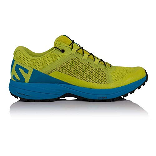 Salomon XA Elevate, Zapatillas de Trail Running para Hombre, Verde (Acid Lime/Hawaiian...