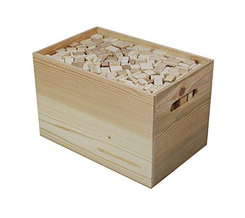 Legna da ardere, legnetti accendifouco di abete-larice, lung. 18 - 19 cm, eccellente qualitÀ essiccata , confezionata in una scatola di legno da 5 kg (abete - larice, 5 kg)