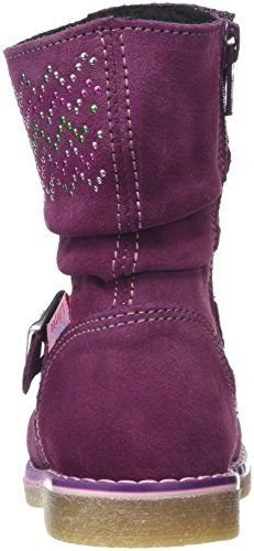 Prinzessin Lillifee 470721, Bottines à doublure froide fille Violet - Violett (pflaume)