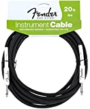 Fender Fg-20 Performance Series 20ft Cable Black