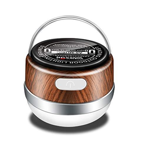 TXDY Zelt Laterne USB wiederaufladbare Camping Licht, Bluetooth Lautsprecher Magnet Adsorption hängen Lampe geeignet für Stromausfall nach Hause - Lautsprecher Hängen