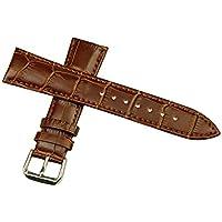 Evtech (tm) de Apple Watch, iWatch Correa Cocodrilo reemplazo cuero correa de las correas de la pulsera de la venda (38mm Puce)