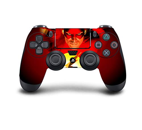 PS4 Dualshock Controller-Skin für PS4 Controller (Modded Chip, PS4-Red Flash) - Ps4 Konsole Call Duty Bundle, Of