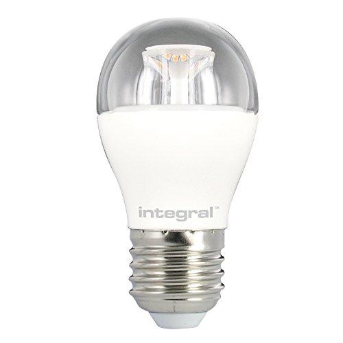 Integral LED-Dimmbar Klar Mini Globe Leuchtmittel (E27Schraube 6,5W LED 2700K 470lm)-Warm Weiß Integral Led