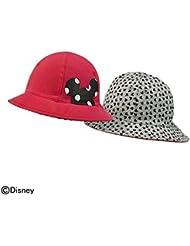 adidas DY Mouse Bucket Sombrero, Niños, Gris (Brgrin / Rosbas / Blanco / Negro), OSFB