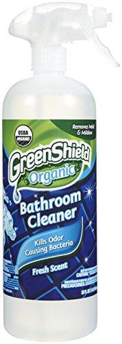 GreenShield Organic USDA Bathroom Cleaner - Fresh Scent - 32 oz