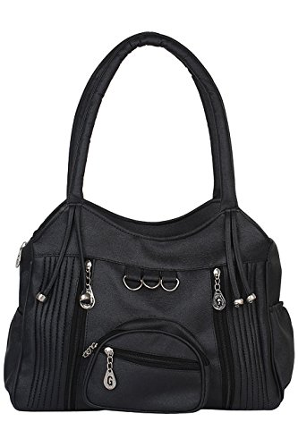 TipTop Women's Handbag (Black, C-120)