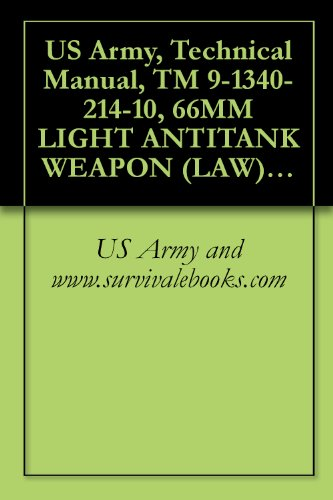 US Army, Technical Manual, TM 9-1340-214-10, 66MM LIGHT ANTITANK WEAPON (LAW) SYSTEM M72A1, M72A2 WITH COUPLER, AND M72A3, 1992 (English Edition)