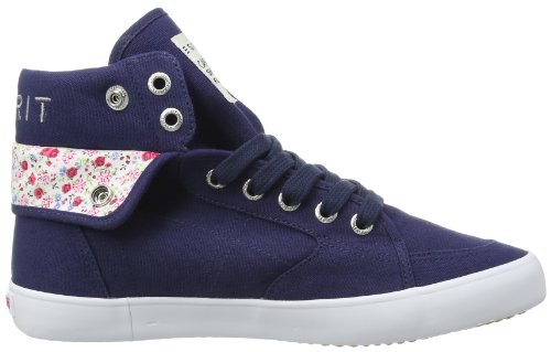 ESPRIT  Conny Turn Up, Hi-Top Slippers mixte enfant Bleu - Blau (navy 415)
