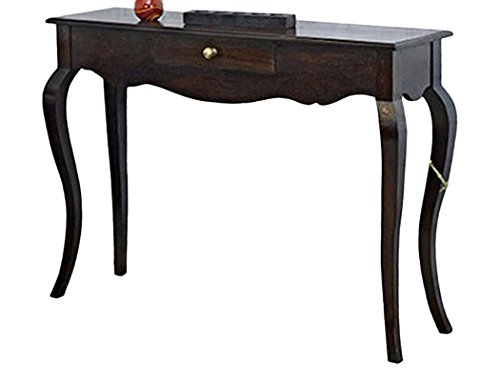 Jangir JDCL704 Solid Wood Console Table (Glossy Finish, Brown)