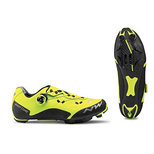 Northwave Scarpe MTB Cross Country Uomo Ghost XCM Giallo Fluo/Nero