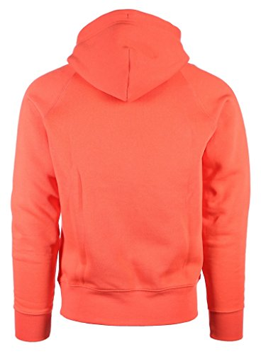 GANT Herren Kapuzenpullover Shield Hoodie Orange