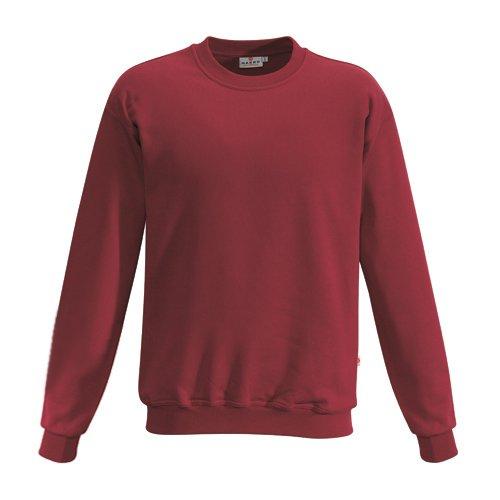 """HAKRO Sweatshirt """"Premium"""" - 471 - weinrot - Größe: M"""