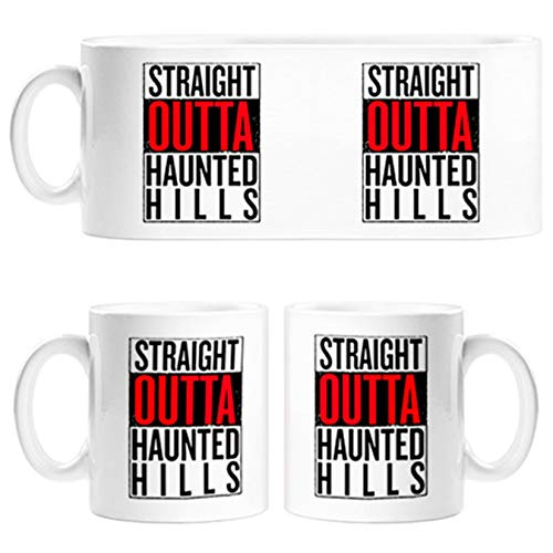 Taza Straight Outta Haunted Hills - Cerámica