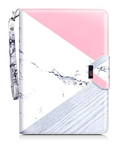 Dailylux iPad Mini Hülle, iPad Mini 2 Hülle, iPad Mini 3 Hülle,360 Grad drehbare PU Ledertasche Multi-Winkel Ständer Folio Cover für Apple iPad Mini 1/2/3 Auto Sleep/Wake-Funktion-Marble