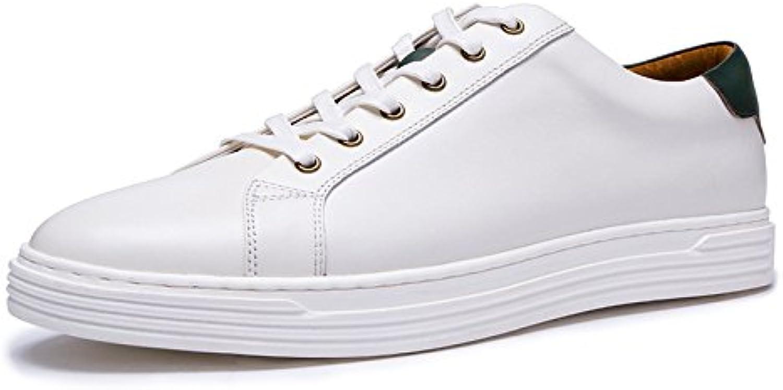 Autunno Scarpe Bianche Traspiranti Scarpe da Ginnastica Pelle Inghilterra Scarpe Casual | A Basso Prezzo  | Uomo/Donna Scarpa
