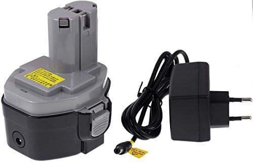 Batteria compatibile compatibile compatibile per Makita ML141 incl. caricabatterie, Li-Ion, 1500mAh, 14,4V, 21Wh, nero | Nuovo mercato  | Sconto  | Adatto per il colore  337276
