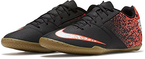 Nike Bombax Ic, Chaussures de Football Homme Noir (Black/white/total Crimson)
