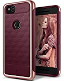 Caseology Parallax Series Google Pixel 2 Cover Case with Design Slim Protective for Google Pixel 2 (2017) - Burgundy