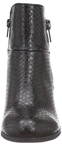La Strada Graue Kroko-schlangen-look Stiefeletten, Bottes Classiques femme Gris (1502 - Croco/snake Anthraciet)
