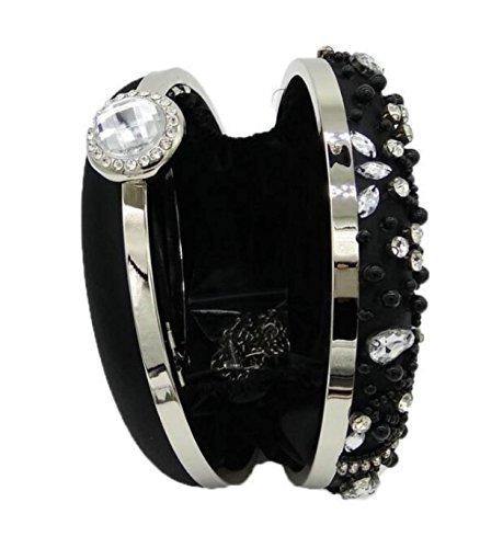 Pochette Da Sera Con Pochette A Forma Di Diamante Con Pochette Di Diamanti