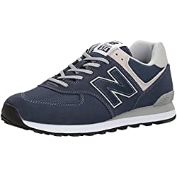New Balance 574 Core Zapatillas Hombre, Azul (Blue Navy), 44 EU (9.5 UK)