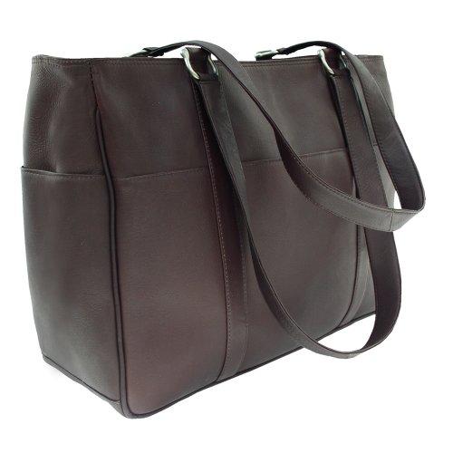 Piel Leather Medium Sac de shopping, chocolat, One Size Marron