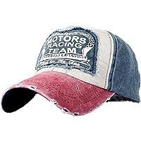 TTMALL Cappellini con Visiera da Baseball Hip-Hop Unisex - Berretto Lavato  Cappello in Cotone 15be511c8b2a