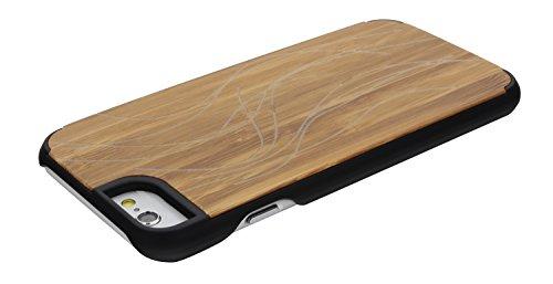 "SunSmart Apple iPhone 6 Plus Holz Hülle Klassische hölzerne Abdeckung iPhone 6 Natural Wood Schutzhülle für iPhone 6 Plus 5.5""-23 03"