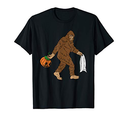 Kostüm Kind Bigfoot - Lustiges Bigfoot Sasquatch Halloween Kostüm Jungen Mädchen T-Shirt
