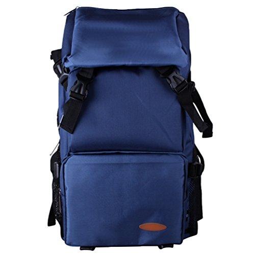 ZKOO Damen & Herren Wasserdicht Wanderrucksack Reiserucksack Laptoprucksack Reisetaschen Ultraleichte Wandern Klettern Rucksack Blau