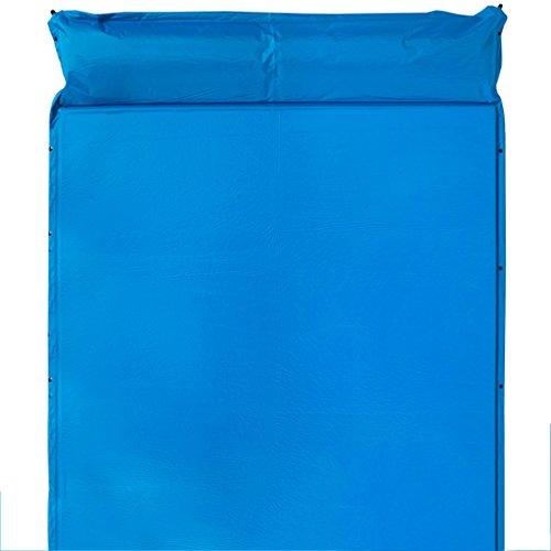 Couverture de pique-nique Matelas Résistant À L'humidité Pour Augmenter L'épaississement Gonflable Tapis De Couchage Tente De Couchage Coussin D'air Extérieur Camping Tapis 190 Cm * 158 Cm Pique-nique