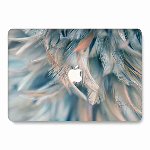 AQYLQ MacBook Schutzhülle/Hard Case Cover Laptop Hülle [Für MacBook Air 13 Zoll: A1369/A1466], Ultradünne Matt Plastik Hartschale Schutzhülle, CY18 blau (Macbook 13 Air Speck Zoll Case)