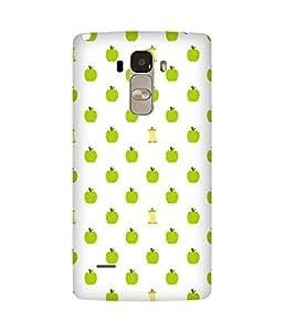 Green Apple Back Cover Case for LG G4 Stylus