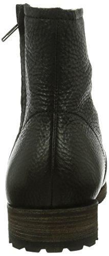 Blackstone  FLOW FUR BLACK, Bottes Classics courtes, doublure chaude homme Noir - Noir