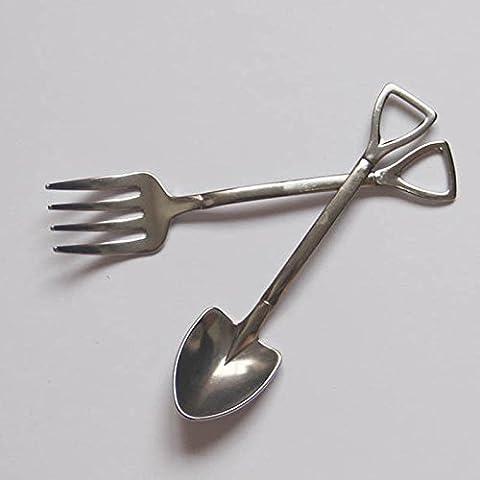 SQL Gli agricoltori Spalato forchetta cucchiaio set combinazione creativa in