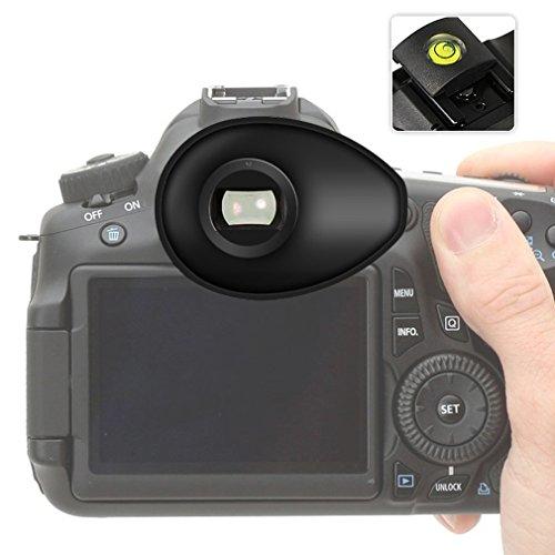 First2savvv Calidad premium Cámara réflex DSLR 22mm Ojera para Nikon D750 D610 D600 D500 D300S D7200 D7100 D7000 D90 D5500 D5300 D5200 D5000 D3400 D3300 D3200 D3100 D700 D300 D200 D100 D80 D70 D60 D70 D60 DSLR Camera + gradienter - - QJQ-TX-P-P01G15