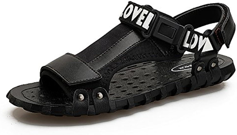 sneakers for cheap 78447 7cfca Homme Pantoufle Été Plage Chaussures Open-toe Tissu Pantoufle Sandal  Garçon Étudiants Creative (