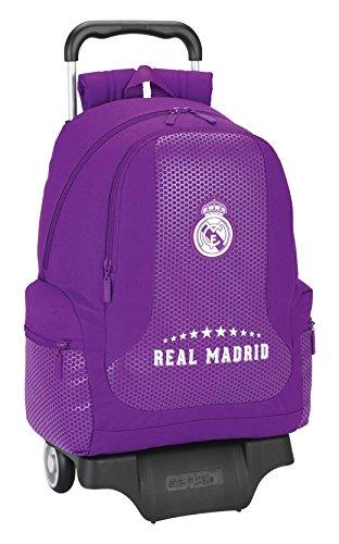 Real Madrid 11677 Mochila Infantil, 43 cm, Morado