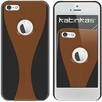 Katinkas-Cover morbida per Apple iPhone 5, Design: doppia curva, colore: