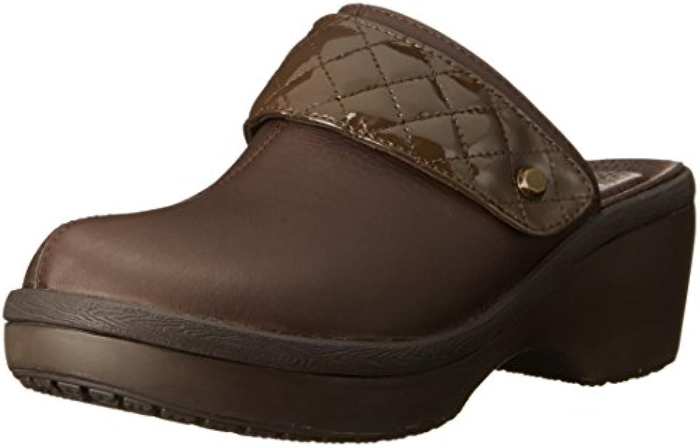 crocs Women's Cobbler Quilt Strap Clog 2018 Letztes Modell  Mode Schuhe Billig Online-Verkauf