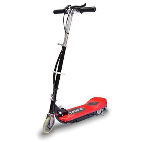 vidaXL Trottinette Electrique Rouge Scooter pour Enfant Trottinette Jouet