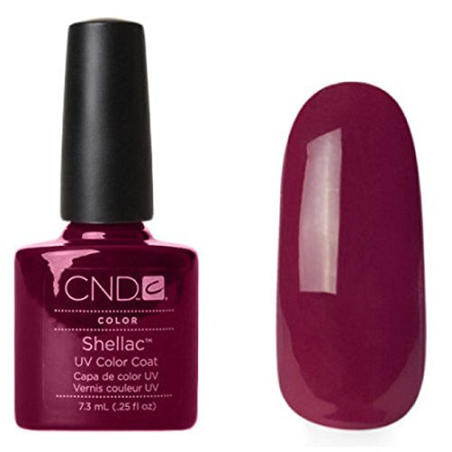 Chip Nail Color Polnisch (CND Shellac Tinted Love, 1er Pack (1 x 7.3 ml))