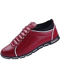 Scarpe velluto it Scarpe Scarpe borse e da rosso Amazon uomo a64qxff0