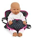 Bayer Chic 2000 782 12 - Puppen-Tragegurt, Dots, blau/pink