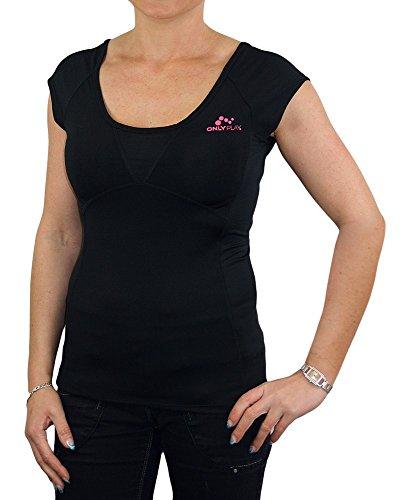 ONLY -  T-shirt - Maniche corte  - Donna black/logo neon Medium