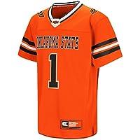 """Oklahoma State Cowboys NCAA """"Hail Mary Pass"""" Youth Kinder Football Jersey Trikot"""
