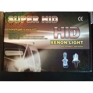 Kit conversion ampoule BI-XENON super HID H4-3 8000K 35W, universel